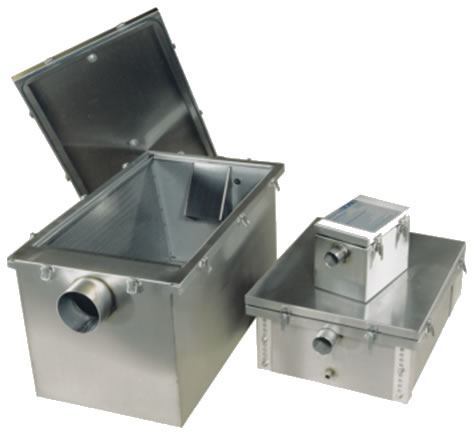 SSGT range of grease traps