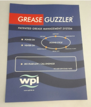 Grease Guzzler V2 - LED Panel Sticker