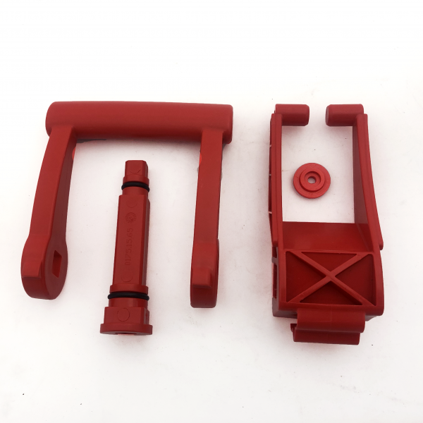 Quatrix-K V2 & V3 RED MANUAL HANDLE & LEVER FOR EMERGENCY FLAP