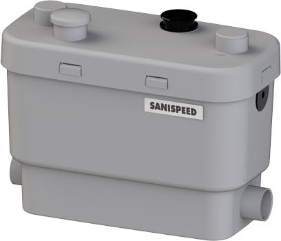 Saniflow Sanispeed + Commerical Grey Water Lifting Station